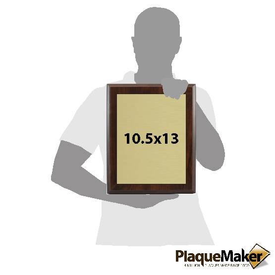 Trademark Plaques Sizes