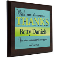 Thank You Plaques -Style 2
