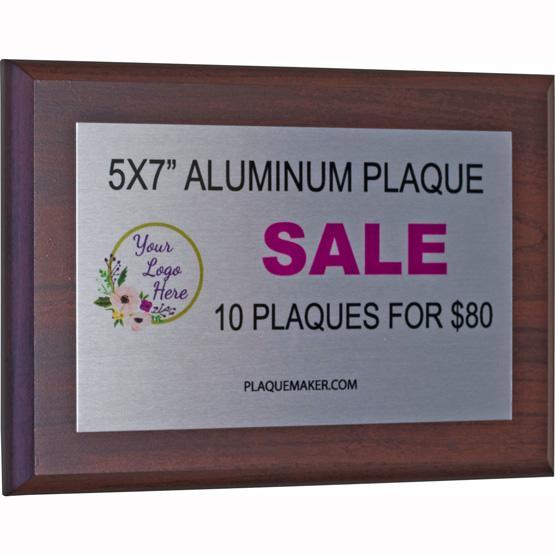 5 Quot X7 Quot Custom Award Sublimated Plaques Bulk Sale 10 80