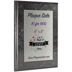 "6""x8"" sublimated plaques sale"
