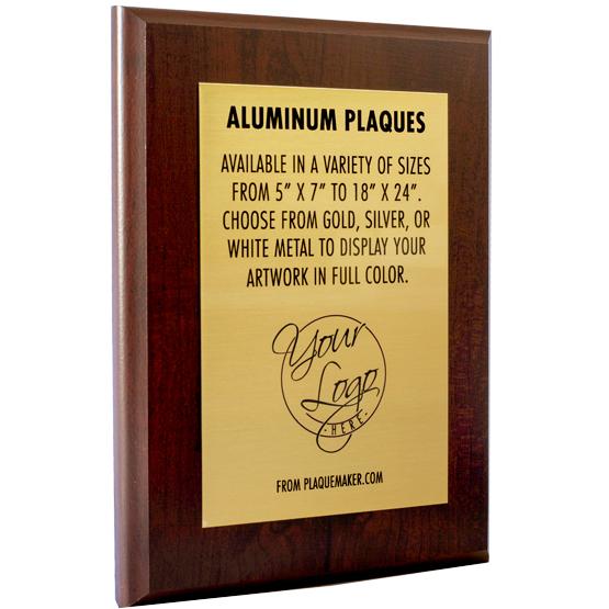 Color Printed Aluminum Metal Award