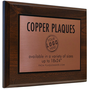 Custom Copper Plaques