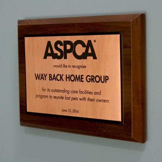 Custom Copper Plaques