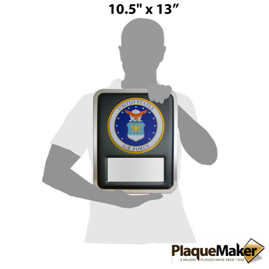 Air Force Hero Plaque Size Chart