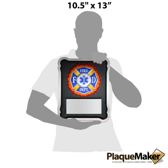 EMT Hero Plaque Size Chart