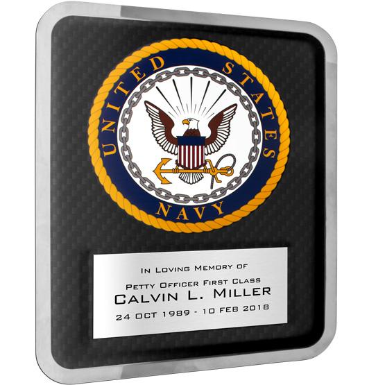 Navy Hero Plaque