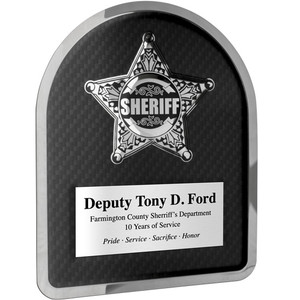 Sheriff Hero Plaque
