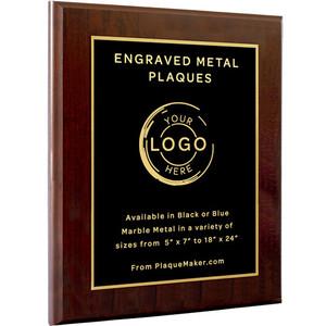 Laser Engraved Plaques