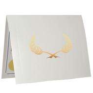 White Certificate Folder