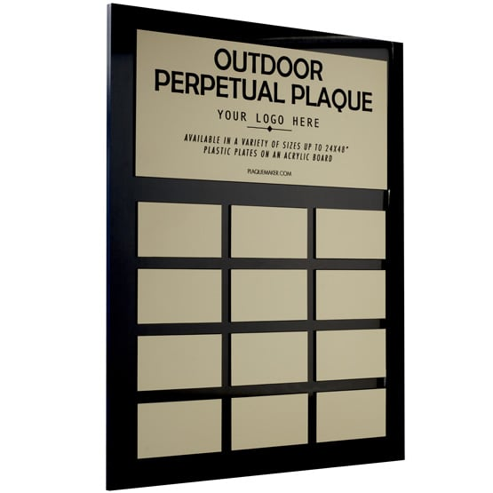 Outdoor Wall Perpetual Plaques