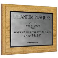 Titanium Plaque