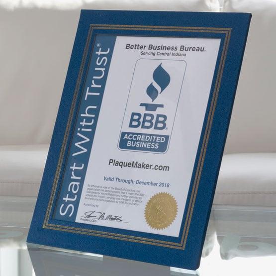 blue vinyl certificate presentation folders