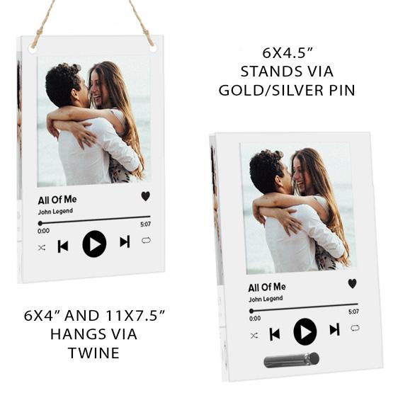 Music Album Cover Display Info