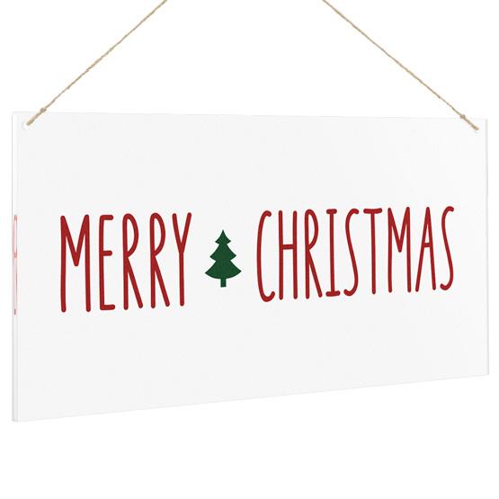 Merry Christmas Acrylic Sign