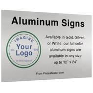 Aluminum Signs