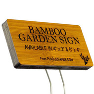 Wood Garden Markers
