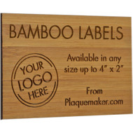 bamboo wall tag