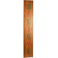 Color Believe Porch Sign