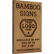 Bamboo Wood Signs