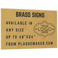 Brass Signs