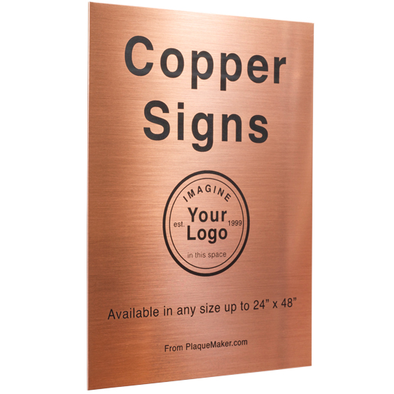 Copper Signs