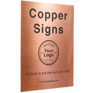 Copper Sign