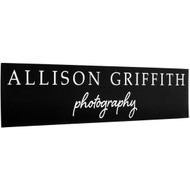 Faux Leather Black with Silver Sign