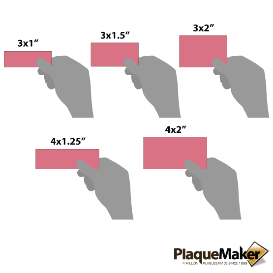 Faux Leather Pink Labels Sizes