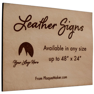 Leather Signs