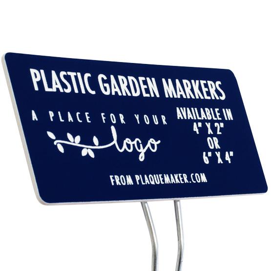 Plastic Garden Markers