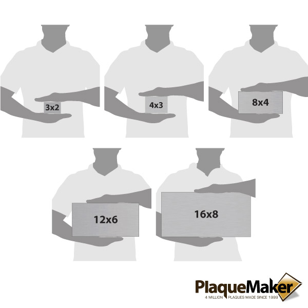 Stainless Steel Address Size Chart