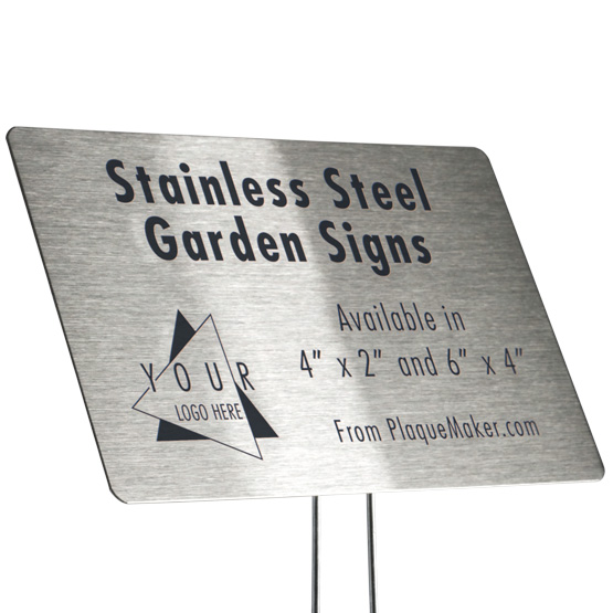 Stainless Steel Garden Markers