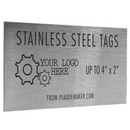 stainless steel metal tags