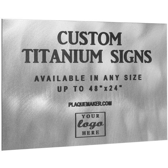 Titanium Signs