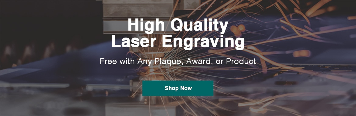 High quality laser engraving